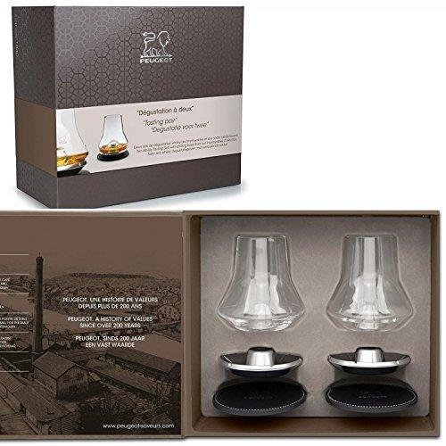 Transparent Zwei Box Weihnachten Whisky Glas Peugeot 250348Verkostung 26,2x 13,2x 23,5cm 2x 13 2x 23 5cm