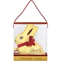 Lindt Goldhase 1kg, Vollmilch, von Hand gewickelt in einer durchsichtigen Box, Schokoladen Geschenk, 1er Pack (1 x 1 kg)