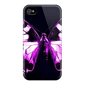 Hot Design Premium WbP19921IDke Cases Covers Iphone 6 Protection Cases(purple Butterfly)