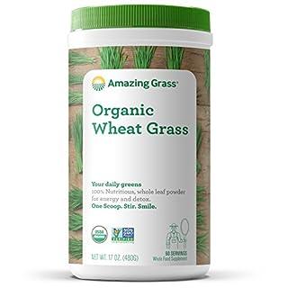 Amazing Grass Organic Wheat Grass Powder: 100% Whole-Leaf Wheat Grass Smoothie Booster, 60 Servings (B0038B3AGO) | Amazon price tracker / tracking, Amazon price history charts, Amazon price watches, Amazon price drop alerts