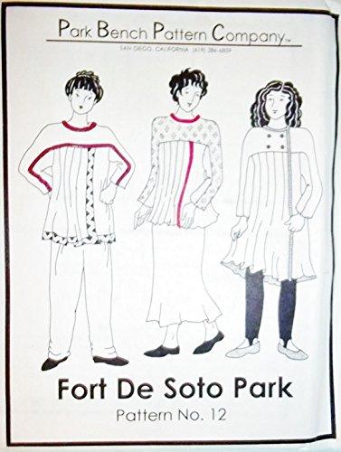 Amazon Com Park Bench Pattern Company Fort De Soto Park Arts