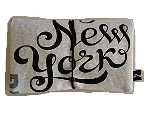 Büroteuse Tabaktasche / Drehertasche mit New-York-Schriftzug, jede Tasche ein Unikat! New-York II