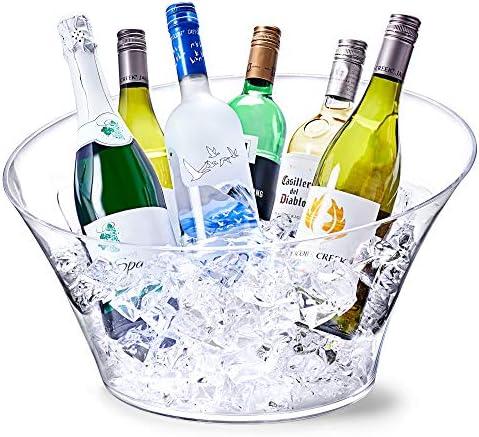 VIP Partywanne – Getränkekühler, Getränke-Eimer, Getränke-Eimer, Getränke-Eimer, Wein- und Champagner-Eimer
