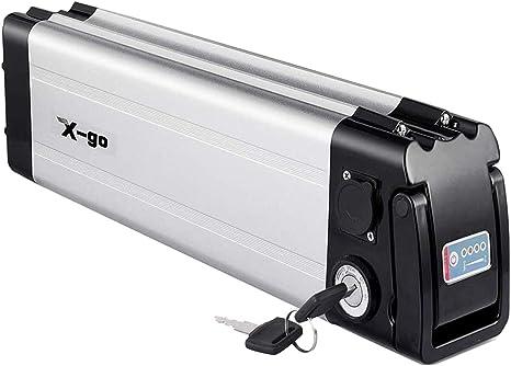 X-go Bateria Bicicleta Electrica 36V Bateria 36V 10Ah Adecuado para Motor De 350W (Tablero de Protección de BMS): Amazon.es: Deportes y aire libre
