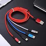 Amuvec-4-in-1-Cavo-Multi-USB-Ricarica12M30A-Carica-Rapida-con-Doppio-iPTipo-CMicro-USB-per-cellulari-Phone-XS-X-Plus-iPad-iPod-Samsung-Galaxy-S9-S8-S7-Google-Pixel-Huawei-Xiaomi-Tablet-e-Altro