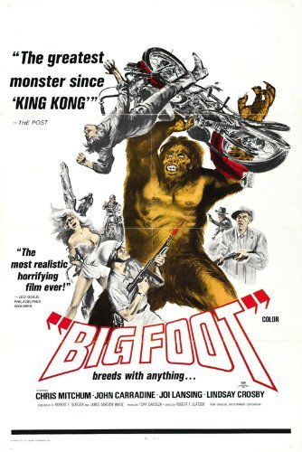 Bigfoot POSTER Movie (27 x 40 Inches - 69cm x 102cm) (1971) (Style B)