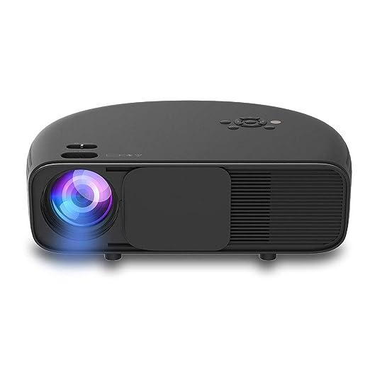 YYD Proyector, proyector de Video, proyector Full HD con Pantalla ...