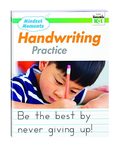 Mindset Moments Handwriting Practice Manuscript Gr. K-1 - NL4690