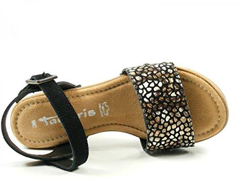 Tamaris 1-28036-28 Sandalias para mujer Schwarz