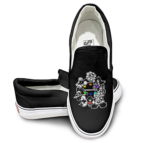 Pole Ncaa Merchandise (MGTER66 Under Video Game Tale Hot Dance Slip-On Casual Sneaker Unisex Style Color Black Size)