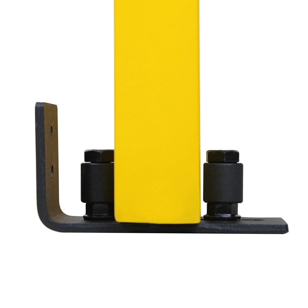 ZEKOO Multifunctional Sliding Barn Door Hardware Door Doorframe Bottom Floor Guide Adjustable Wall Guide Screws