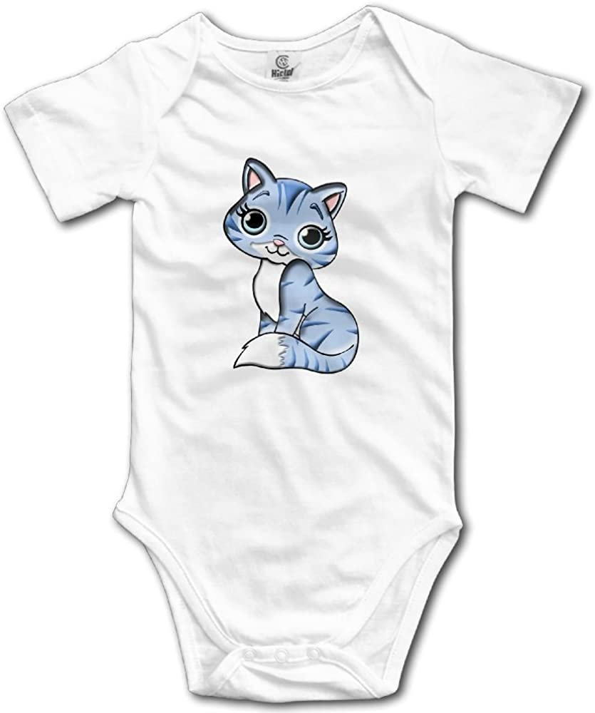 Baby Girl Boy Clothes Black Cat Vs White Rabbit Bodysuit Romper Jumpsuit Outfits Baby One Piece Long Sleeve