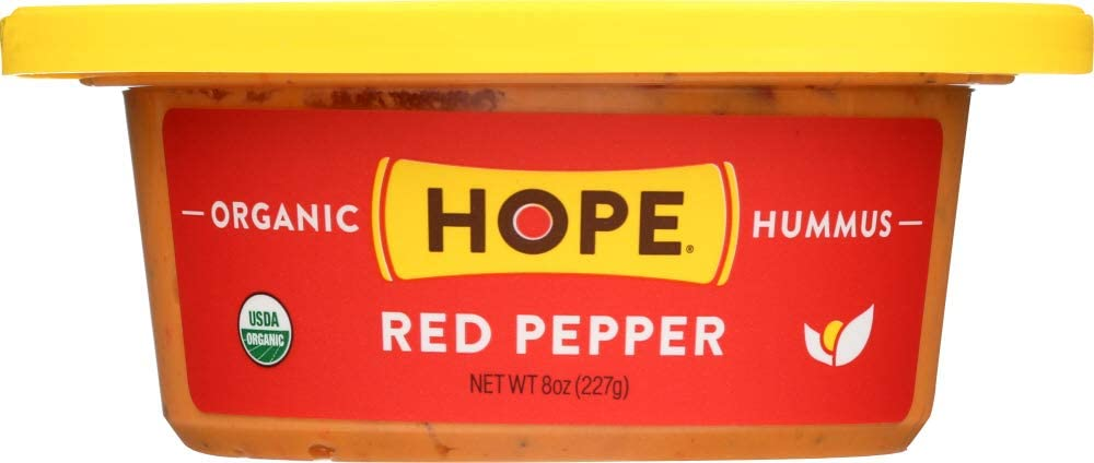 Hope Foods (NOT A CASE) Hummus Red Pepper Organic