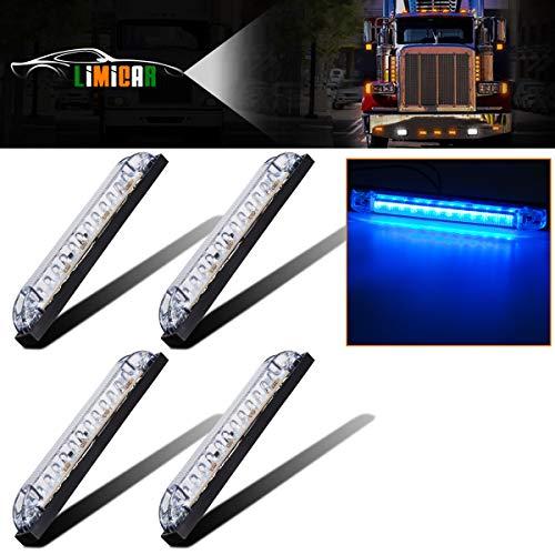 LIMICAR 4PCS LED Utility Strip Light 6