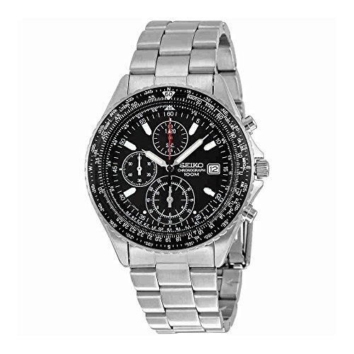 Seiko Men's SND253 Tachymeter Watch -