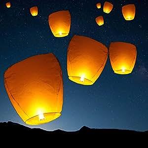 Sky Fly Fire Lanterns SL-000-1 Wish Party Wedding Birthday Multi Color Lantern