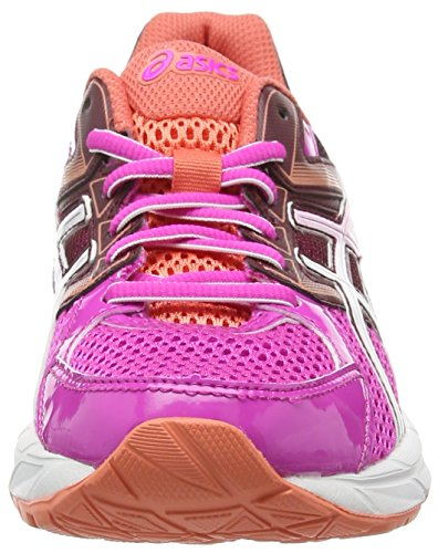 white contend Asics 3501 royal Chaussures Burgundy pink Gel Femme De Running 3 Entrainement Rose Glow 1HqfHwp