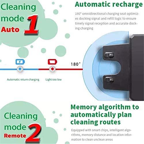 Robot de Balayage de Haute qualité Auto-Charge Aspirateur Robot, Intelligent sans Fil Rechargeable Mini Robot Mop Aspirateur Robot Balayer Idéal for Les Maisons avec Animaux