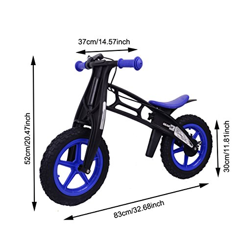 MammyGol Training Balance Bike Kids Sport Bicycle No Pedal Toddler Walking Buddy Excellent Present for Ages 2-5 years (All Terrain Aluminum Bicycle)
