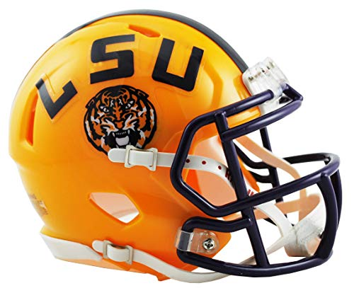 NCAA Louisiana State Tigers Speed Mini Helmet