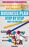 Write A Successful And Sustainable Business Plan: Step by Step: Easy to follow business plan template and two business plan examples; Three entrepreneurial skill tests (Setting up a business Book 1)