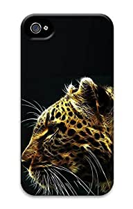 iPhone 4S Case Cool Lion 3D Pattern Hard Back Skin Case Cover For Apple iPhone 4 4G 4S Cases