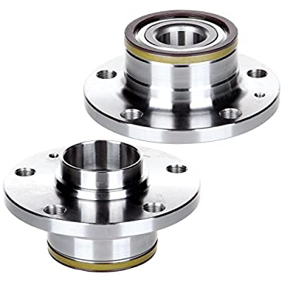 cciyu 512319 Wheel Hub and Bearing Assembly Replacement for fit Volkswagen Audi TT 2008-2009 has ABS Wheel Hubs 5 lugs (2): Automotive