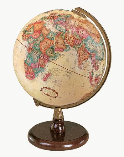 B0006GDYD8 Replogle Globes Quincy Globe, Antique English, 9-Inch Diameter 511dMyCXY5L