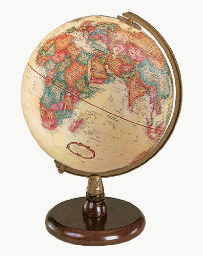Replogle Globes Quincy Globe, Antique English, 9-Inch Diameter ()