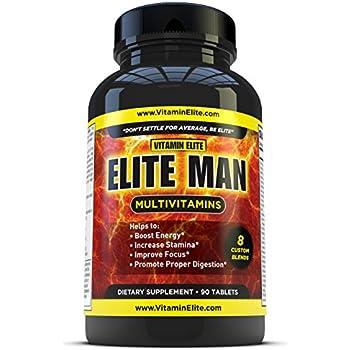 Amazon Com Elite Man Multivitamins Advanced
