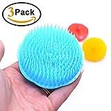 Magic Shampoo Wash Comb Head Massager Scalp Hair Brush Relieve Stress Hair Scrubber