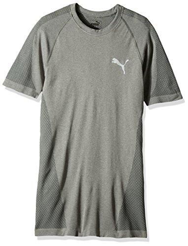 T-shirt Evoknit Better da uomo, Grigio medio Erica, X-Small