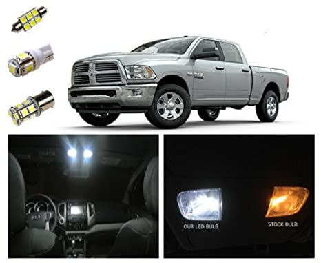 2009 2018 Dodge Ram LED Interior Package Kit