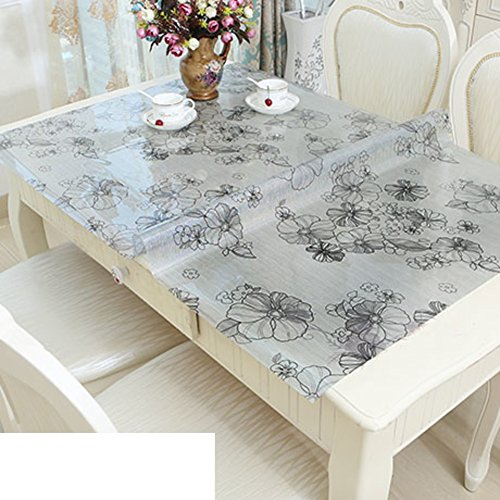 plastic tablecloth/waterproof table cloth/pvc table cloth/tv cabinet cloth/tea table mats/table mat / table cloth-C 70x120cm(28x47inch) by HAKLLASDFNFDES