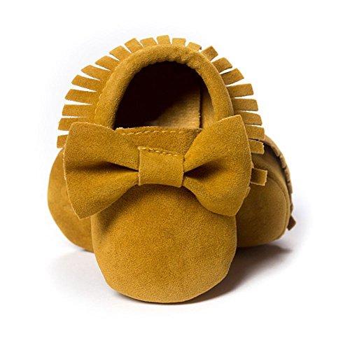 ESHOO bebé infantil unisex suave Sole Cuna zapatos de bebé Zapatillas zapatos de bebé E Talla:12-18 meses C