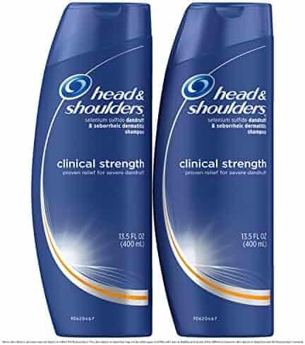 Head and Shoulders Anti Dandruff Clinical Strength, Seborrheic Dermatitis Shampoo, 3.5 Fl Oz (Pack of 2)