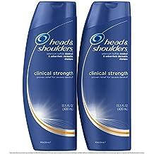 Head and Shoulders Anti Dandruff Clinical Strength, Seborrheic Dermatitis Shampoo, 13.5 Fl Oz (Pack of 2)