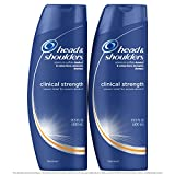 Head and Shoulders Anti Dandruff Clinical Strength, Seborrheic Dermatitis Shampoo, 13.5 Fl Oz (Pack of 2)
