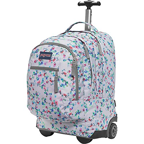 JanSport Driver 8 Rolling Backpack- Discontinued Colors (Multi Grey Floral  Haze) - Buy Online in Oman.  24bc7d20a27bc