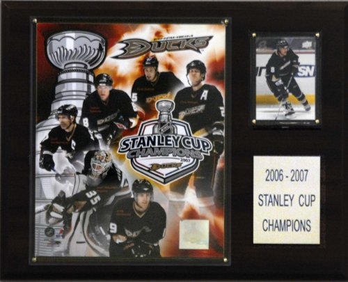 (NHL Ducks 2006-07 Stanley Cup Champions Plaque)