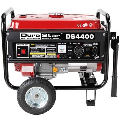 DuroStar DS4400, 3500 Running Watts/4400 Starting Watts, Gas Powered Portable Generator (Power Gas Generator)