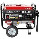 DuroStar DS4400, 3500 Running Watts/4400 Starting Watts, Gas Powered Portable Generator