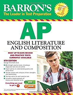 What is the test format for the AP English Literature exam?