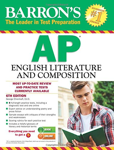 Barron's AP English Literature and Composition, 6th Edition (Barron's AP English Literature & Composition) cover