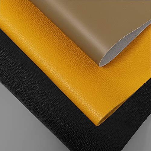 INCIRCLE Leather - Real Cow Skins, Sizes (9.9X15.7 inch, 40x25 cm) 1.1 Square FEET Grade