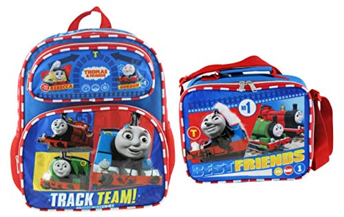 Thomas and Friends 12 Inch Deluxe 3D Backpack & Matching Lunch Box
