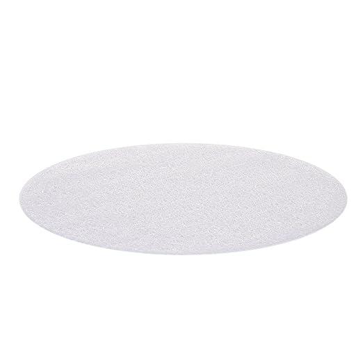 Gaeruite Manteles individuales redondos, transparentes para mesa ...
