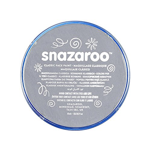 Snazaroo Classic Face Paint, 18ml, Dark Grey