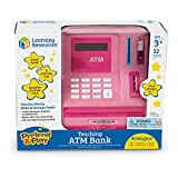 Learning Resources Teaching ATM Bank, Pink, 32