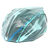 WOLFBIKE Unisex Waterproof Helmet Cover Ideal For Cycling Motorcycle and Other Outdoor Sports (Blue)